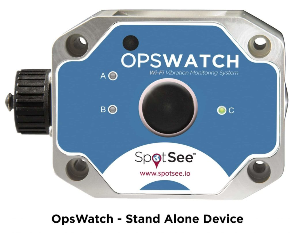 OpsWatch, a monitoring system with WiFi connectivity