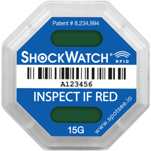 ShockWatch RFID Unactivated SpotSee Impact Indicators